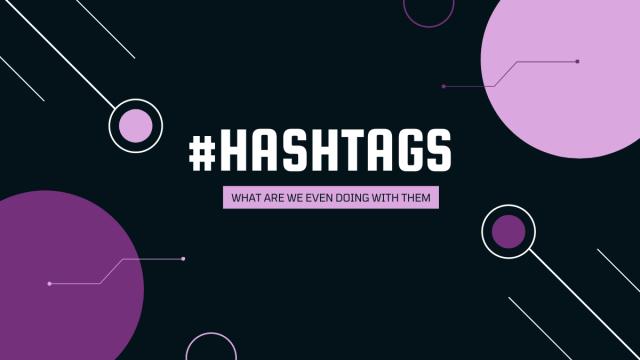Hashtags w the vibe creator