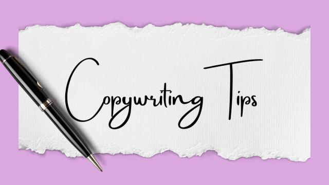 Copywriting tips Copacetic Aesthetix blog