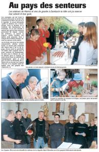 L'Alsace du 25 avril 2005