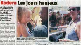 L'Alsace du 17 juillet 2006