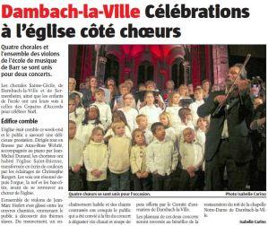 L'Alsace du 17 décembre 2012