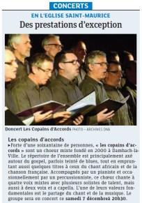 L'Alsace du 3 décembre 2013