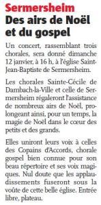 L'Alsace du 5 janvier 2014