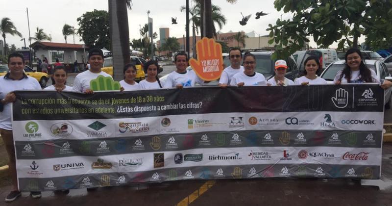 Promueven Jóvenes de COPARMEX combate a la corrupción