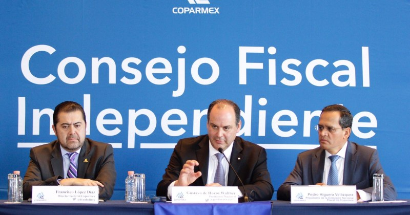 Propone COPARMEX la creación de un Consejo Fiscal Independiente