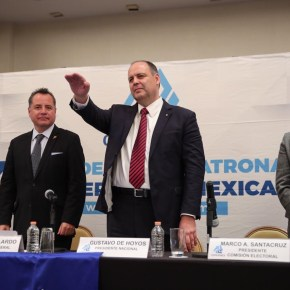 ELIGE COPARMEX CONSEJO DIRECTIVO 2019 Y RATIFICA A GUSTAVO DE HOYOS COMO PRESIDENTE