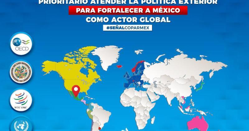 MÉXICO: PROTAGONISMO INTERNACIONAL IRRENUNCIABLE