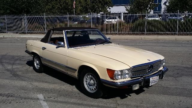 This 1973 Mercedes Benz 450sl Embodies Lightweight Sport