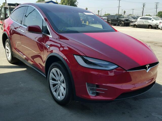 2016 Tesla Model X at Copart