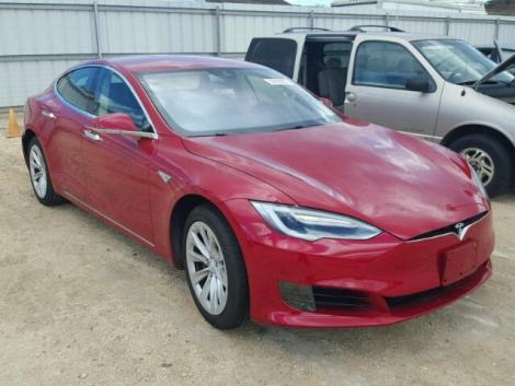 Red Tesla for Sale in Hawaii