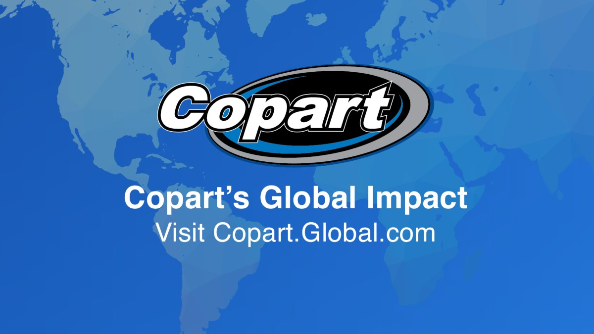 Copart: Driven by Our People, Process and Technology