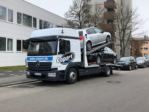 Copart Germany tow truck image