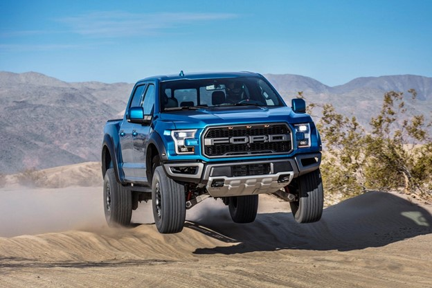 Ford pickup trucks win many off-road races around the world.