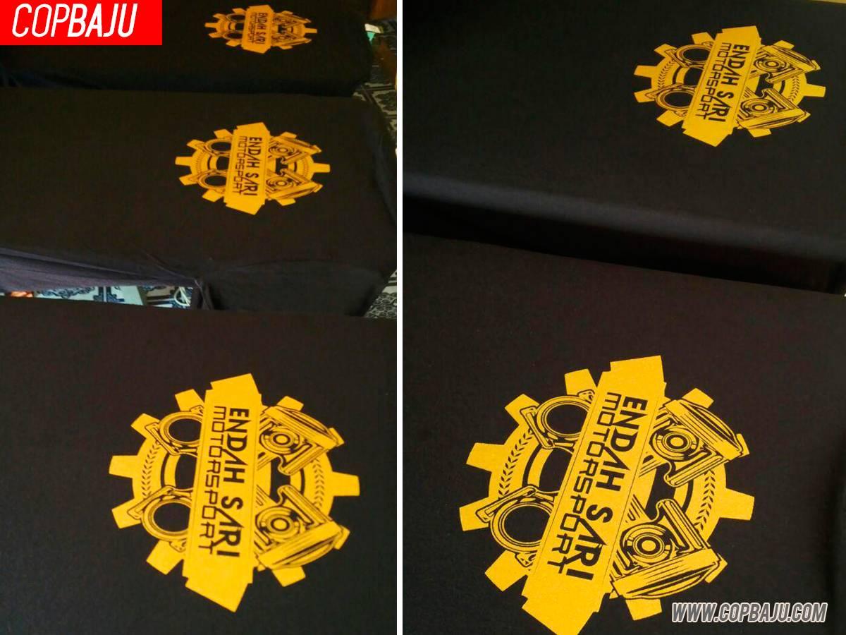 Copbaju#50e-endah-sari-motorsport-tshirt-screen-printing-ipoh