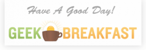 geek breakfast logo