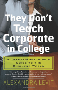they don't teach corporate in college - 2
