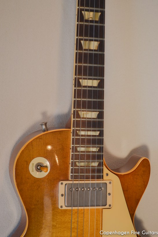 1959 Gibson Les Paul Standard Sunburst guitar for sale-3