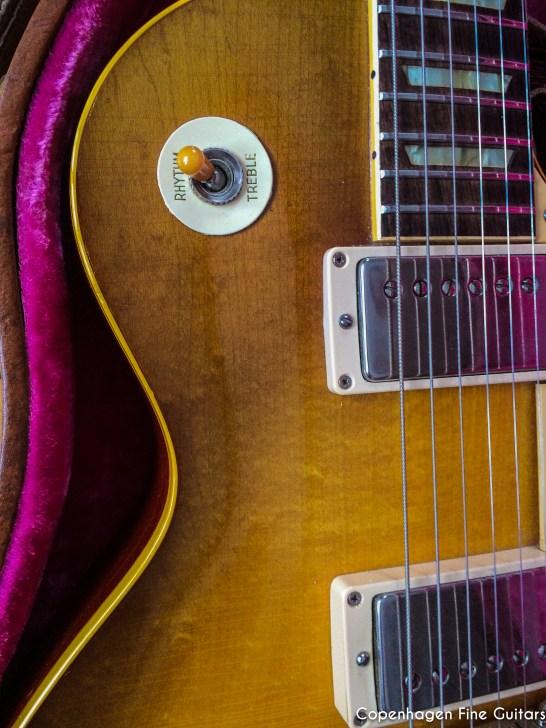 1959 Gibson Les Paul Standard Sunburst guitar for sale-35