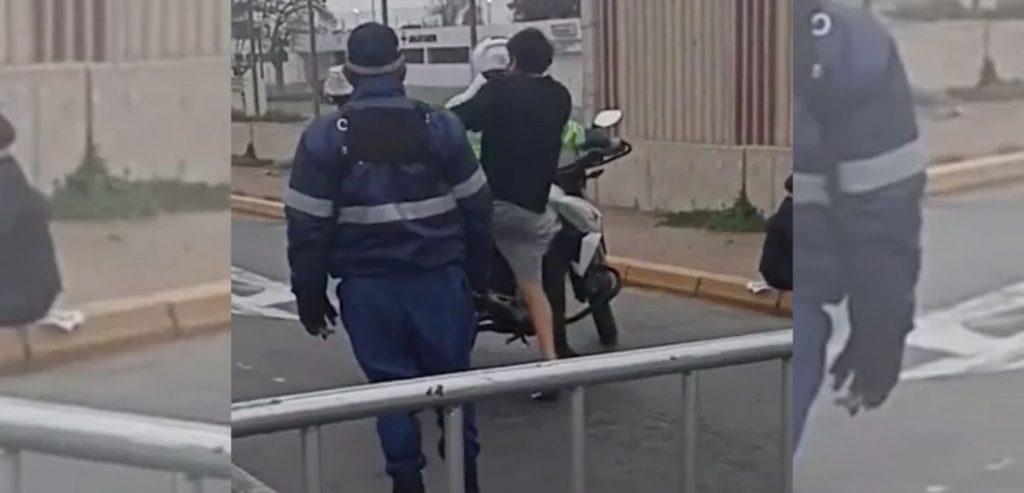 Policía LLEVO a ESTUDIANTE a la UNIVERSIDAD