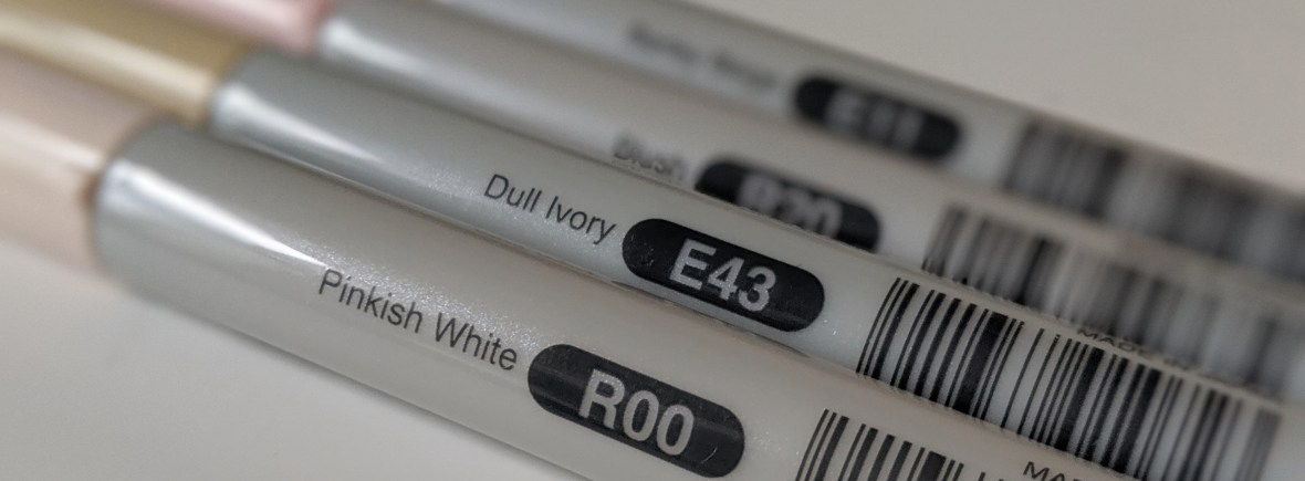 Copic Markers Skin Tones Numbers Copic Thinking