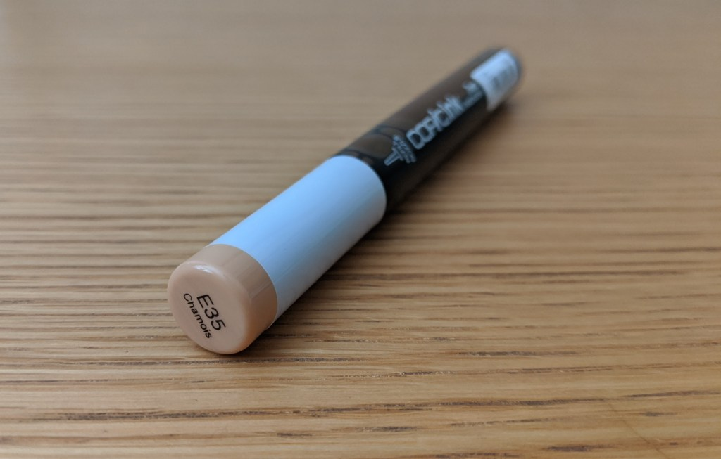 The new 12ml Copic ink Refill in E35