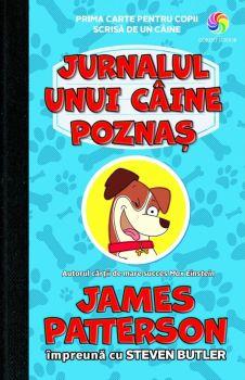 """""""Jurnalul unui câine poznaș"""", de James Patterson și Steven Butler"""