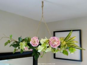 hanging-floral-chandelier-diy-crafts-how-to-wreaths