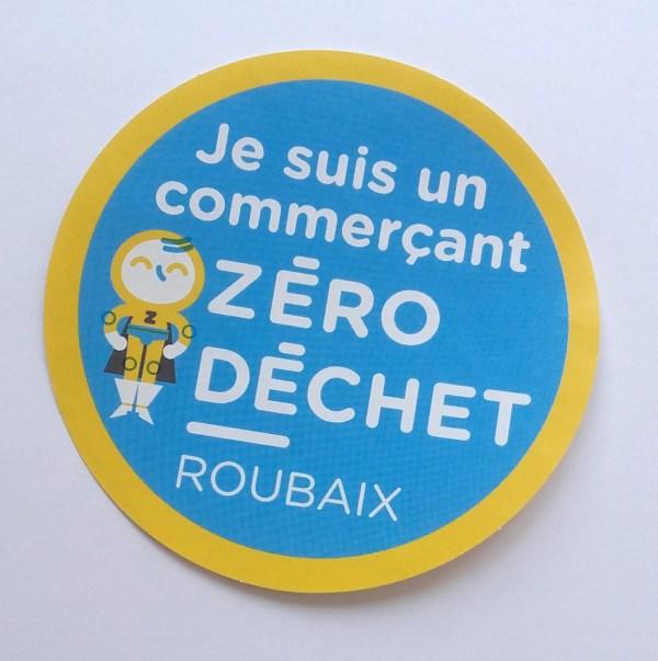Commerçant zero déchet à Roubaix