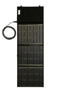 TZragbares, faltbares Solarmodul 110W von Solar Swiss in Schutzhülle/Tasche