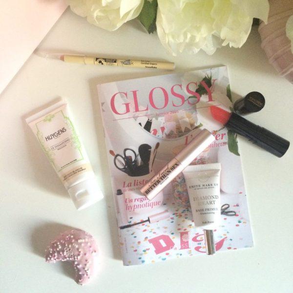 vis glossybox janvier 2016
