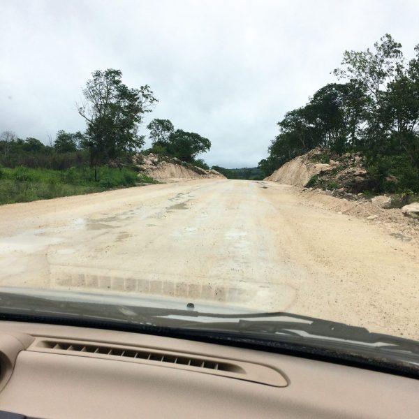 Route vers xipuchil
