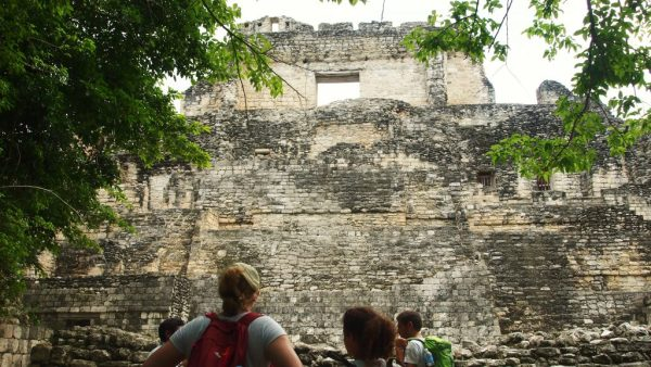 Ruines de Becan Mexique