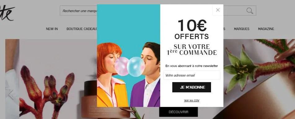 Newsletter galeries lafayette