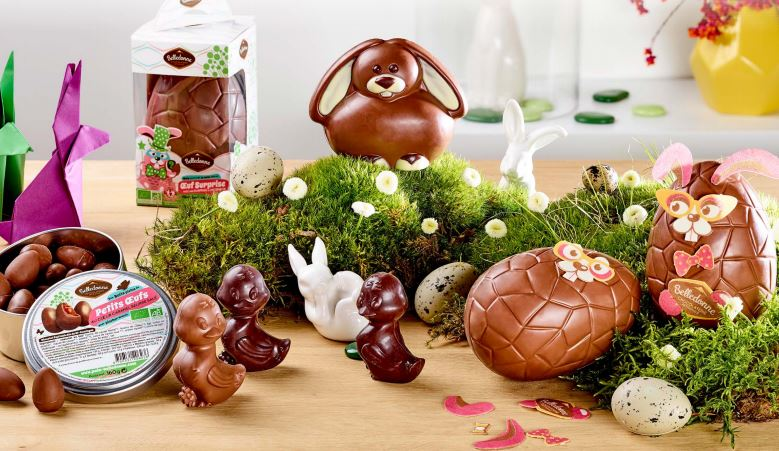 Chocolats sans huile de palme Belldonne