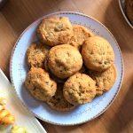 Cookies aperitifs parmesan et graines