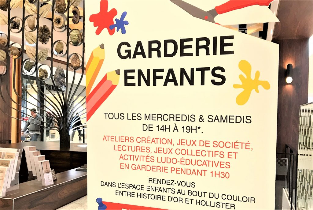 Parly2 - garderie enfants