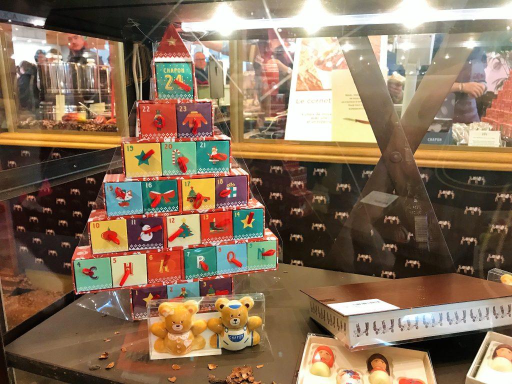 Calendrier de avent chocolat chapon 2017