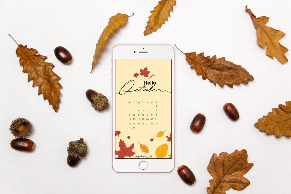 smoothieness - fond ecran octobre automne