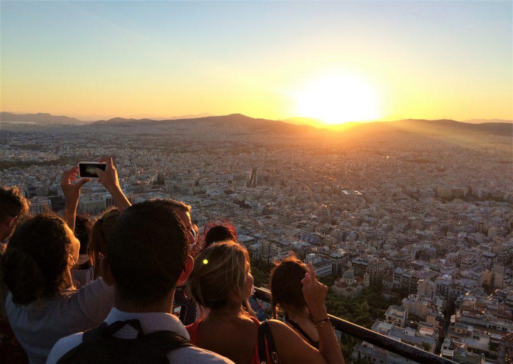 voyage en Grèce athenes lycabette