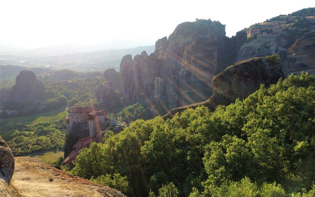 voyage en Grèce meteor