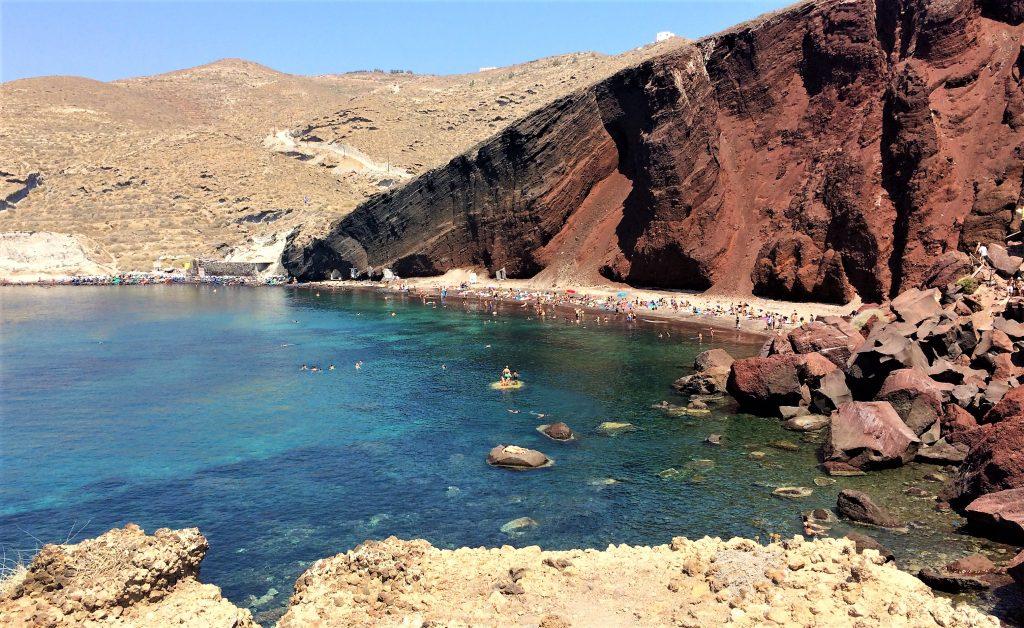 voyage en Grèce santorin akrotiri
