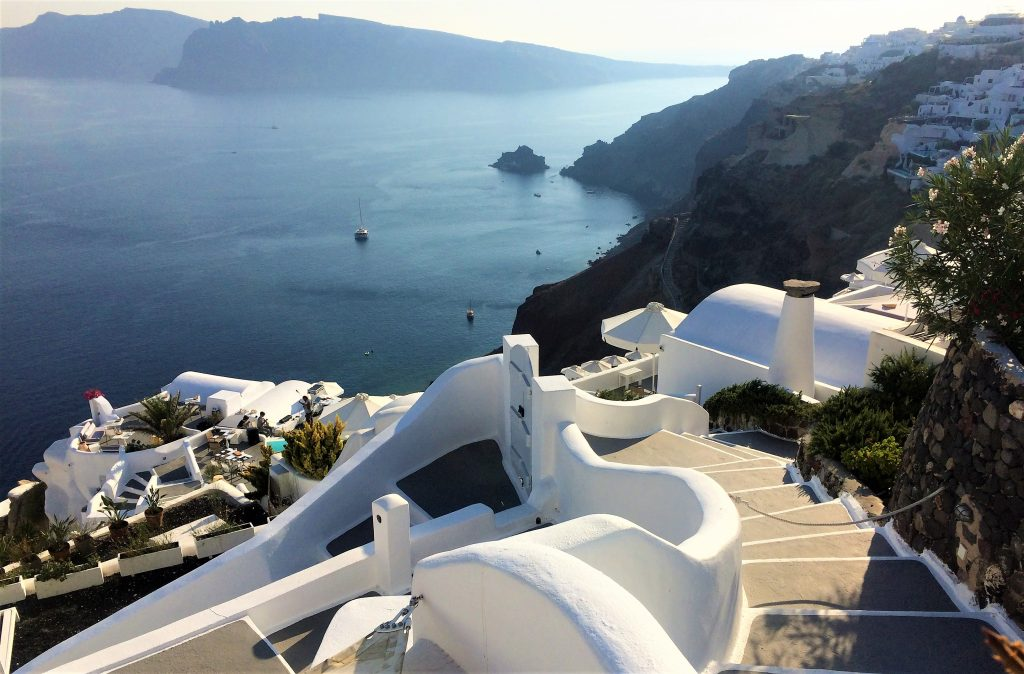 voyage en Grèce santorin oia