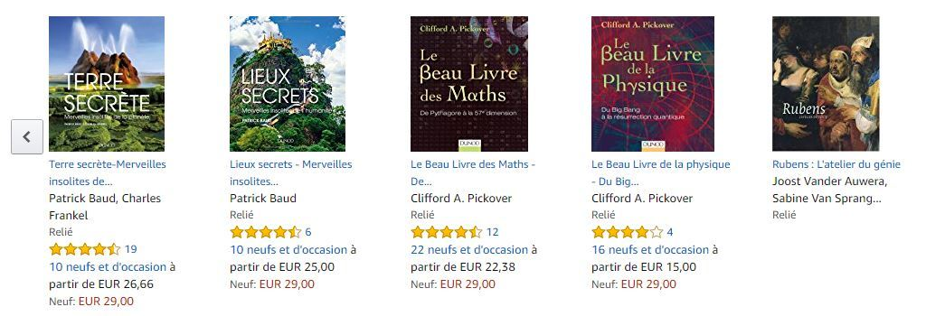 LIvres d occasion Amazon