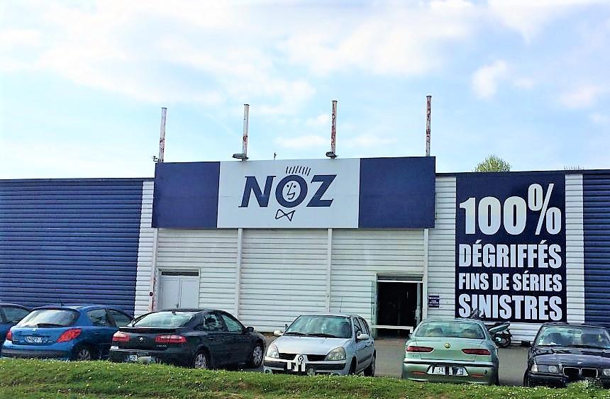 Magasins destockage NOZ