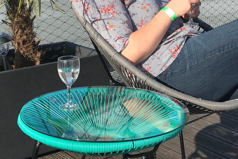 fauteuil jardin acapulco bleu