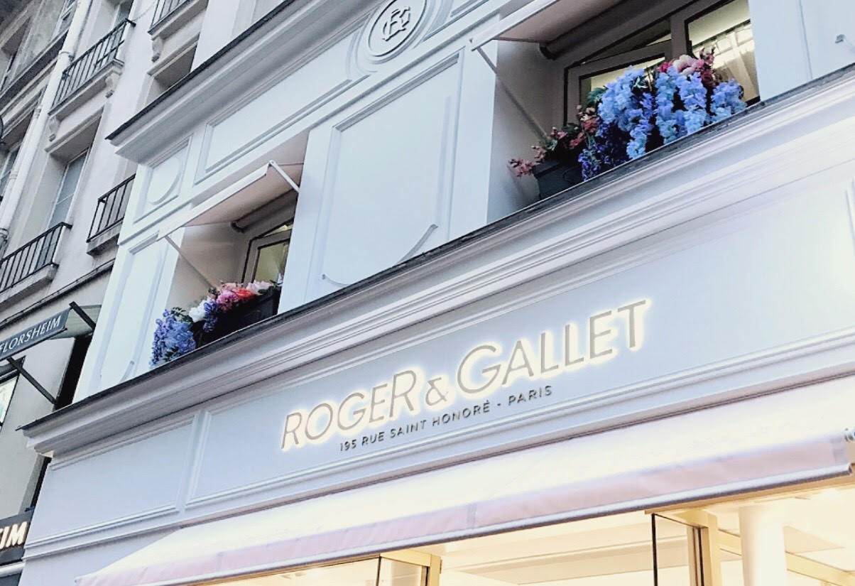 devanture magasin roger et gallet paris