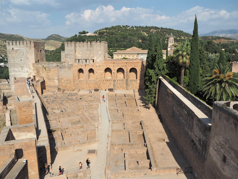 grenade alhambra forteresse