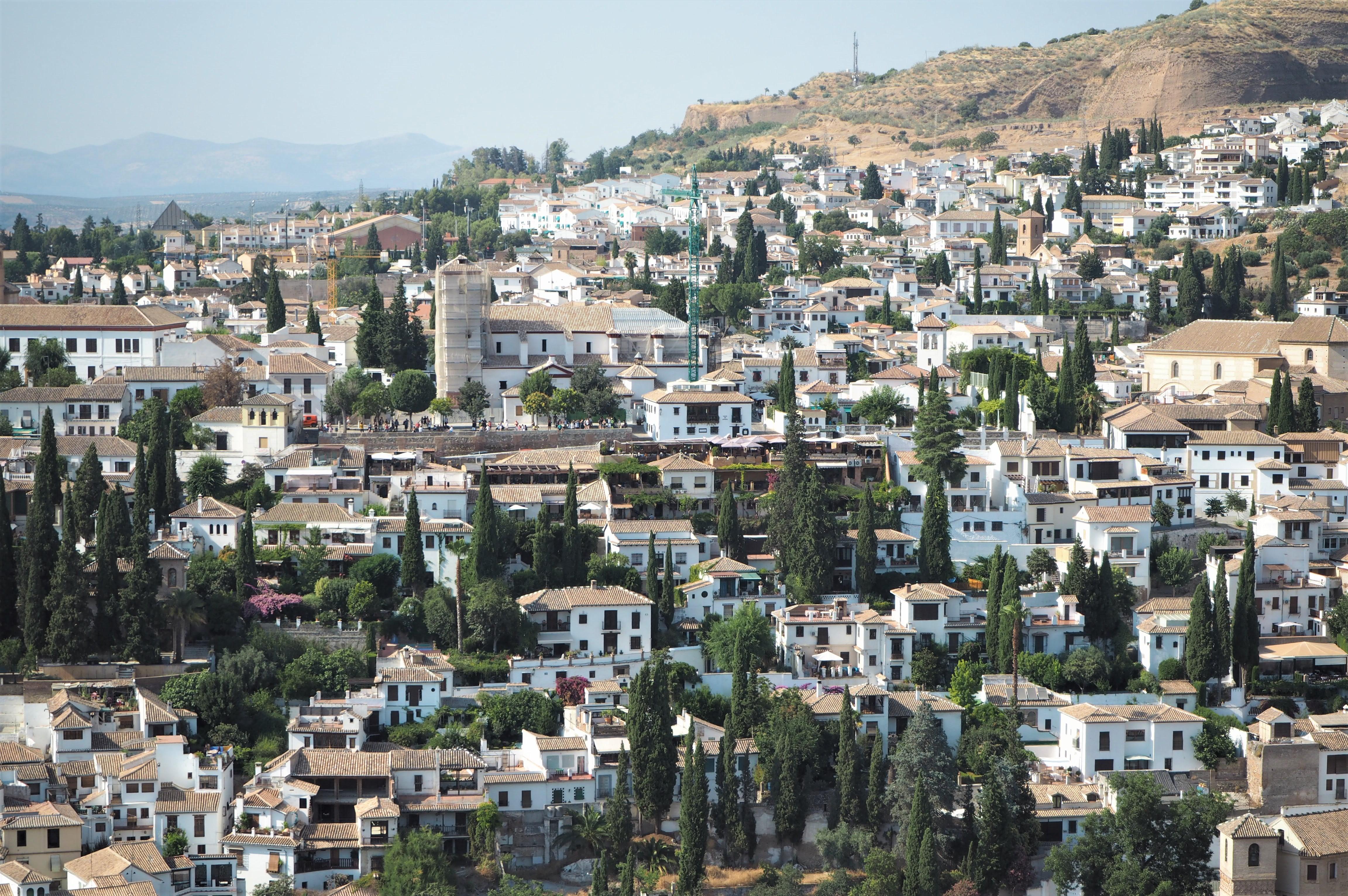 vue grenade depuis alhambra