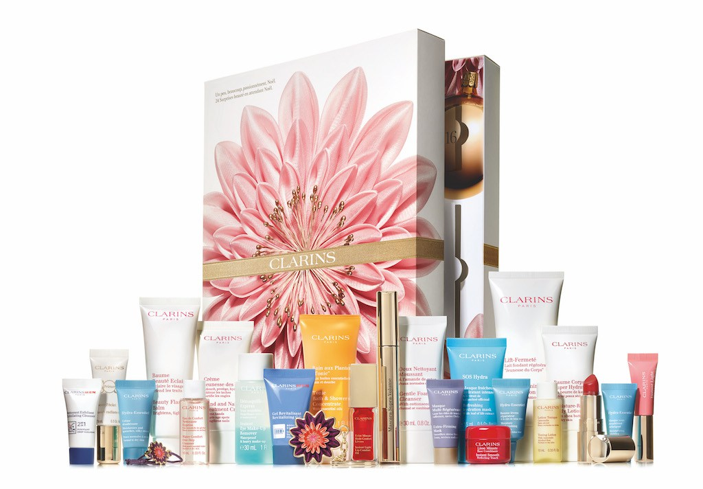 CLARINS-calendrier-avent-beaute-2018