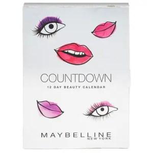 MAYBELLINE – Calendrier de l'Avent Beauté 2018 12 jours